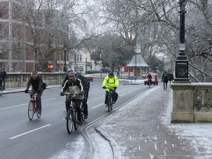Change Tyres for Safer Winter Cycling
