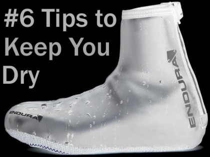 6 Simple Tips to Keep You Dry on Your Bike