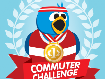 Sign up to the Wokingham Commuter Challenge