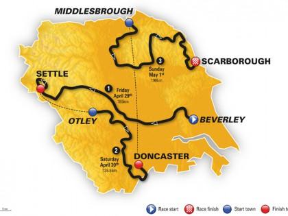 Tour de Yorkshire 2016 route revealed